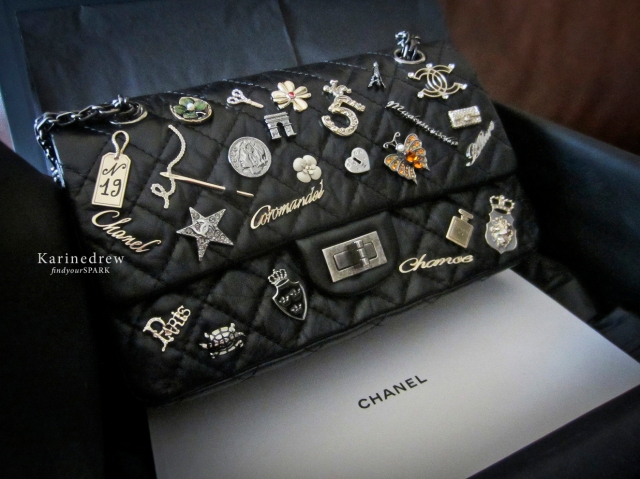 Chanel 2.55 Spring/Summer 2012 Reissue Lucky Charms Black Bag