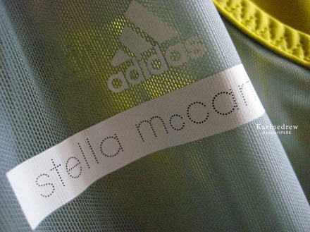Stella McCartney for Adidas Yellow Blue Racer Back Tank top