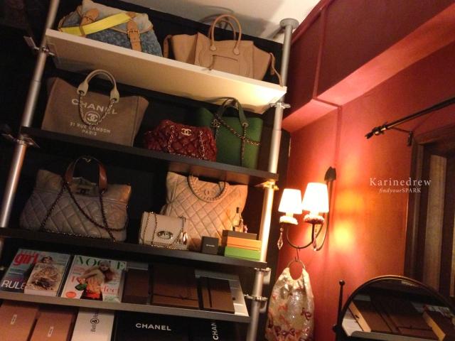 my Closet : Chanel Hidden Chain, Deauville, Bubble, Louis Vuitton Sunrise Denim, Celine Phantom, Mulberry, Miu Miu, Anteprima Sequin Bags,